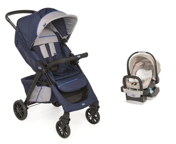 Chicco - Chicco Duo Kwik One Travel Sistem Bebek Arabası Lacivert