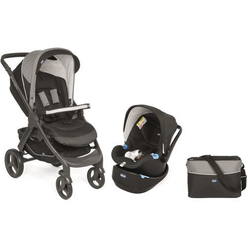 Chicco - Chicco Duo Style Go Up Travel Sistem Bebek Arabası / Siyah