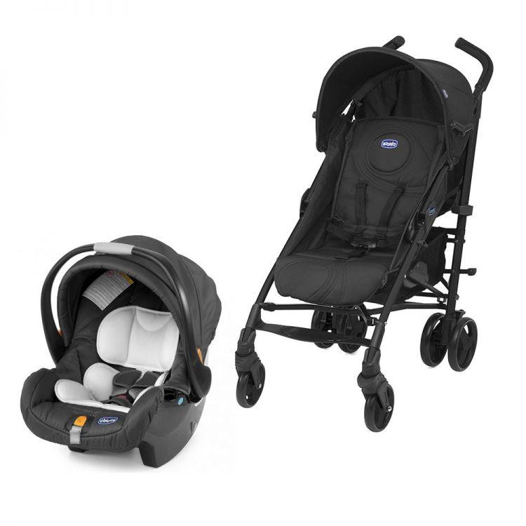 Chicco - Chicco Lite Way Plus Travel Sistem Bebek Arabası Siyah