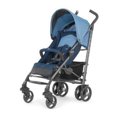 Chicco - Chicco Lite Way2 Top BB Baston Bebek Arabası (Blue)