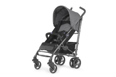 Chicco - Chicco Lite Way2 Top BB Baston Bebek Arabası (Coal)
