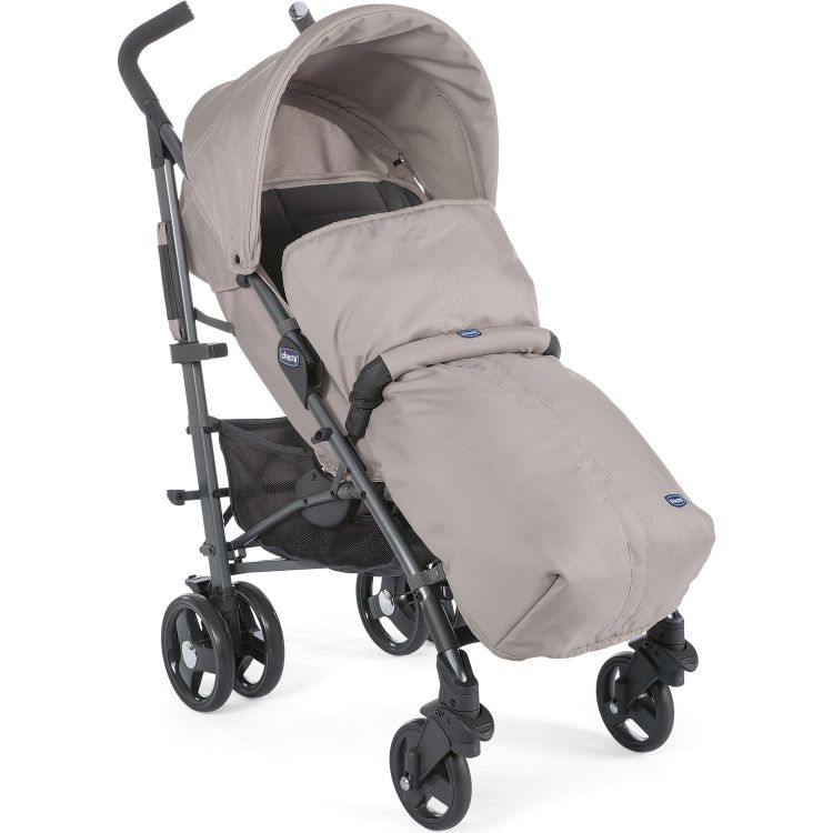 Chicco - Chicco Lite Way3 Top BB Baston Bebek Arabası Beige
