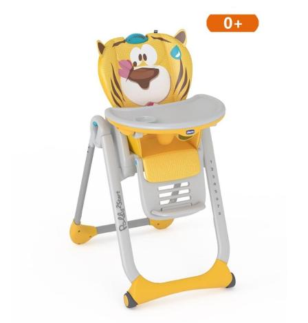 Chicco - Chicco Polly 2 Start Mama Sandalyesi - Barışsever Aslan