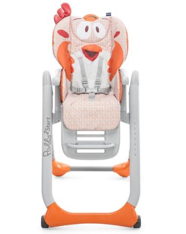 Chicco Polly 2 Start Mama Sandalyesi - Barışsever Aslan - Thumbnail