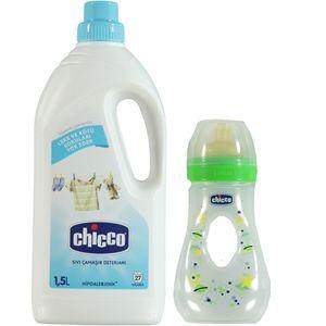 Chicco - Chicco Sıvı Çamaşır Deterjanı 1500 ml Biberon Hediyeli