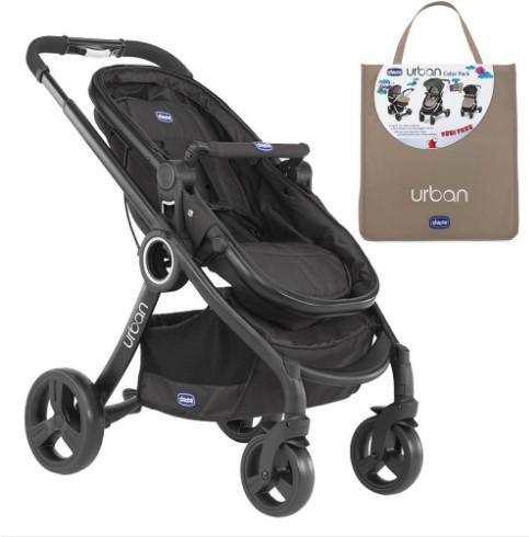 Chicco - Chicco Urban Plus Çift Yönlü Bebek Arabası + Dune Renk Paketi