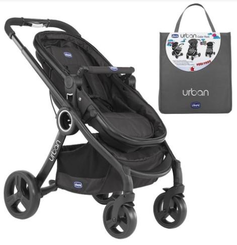 Chicco - Chicco Urban Plus Çift Yönlü Bebek Arabası + Antrasit Renk Paketi
