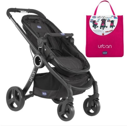Chicco - Chicco Urban Plus Çift Yönlü Bebek Arabası + Ibiza Renk Paketi
