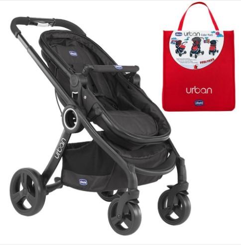 Chicco - Chicco Urban Plus Çift Yönlü Bebek Arabası + Red Wave Renk Paketi