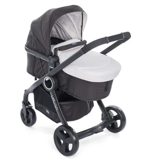 Chicco - Chicco Urban Plus Travel Sistem Bebek Arabası Antrasit