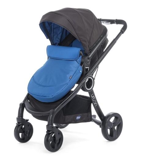 Chicco - Chicco Urban Plus Travel Sistem Bebek Arabası Power Blue