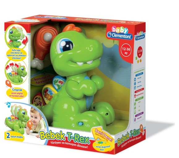 Clementoni Baby T-Rex Dinazor - Thumbnail