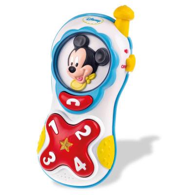 Clementoni - Clementoni Disney Baby Mickey Cep Telefonu