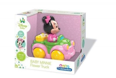 Clementoni - Clementoni Disney Baby Minnie Mini Kamyonet