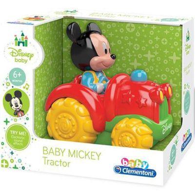 Clementoni - Clementoni Disney Baby Mickey Mini Traktör