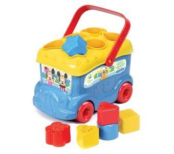 Clementoni - Clementoni Disney Baby Mickey Bultak Otobüs
