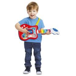 Clementoni - Clementoni Eğitici ve İnteraktif İlk Gitarım Yeni