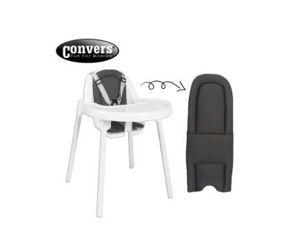 Convers - Convers Puset ve Mama Sandalyesi Minderi - Gri