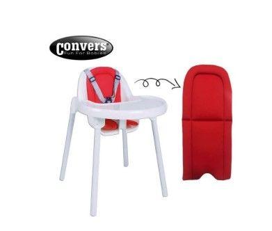 Convers - Convers Puset ve Mama Sandalyesi Minderi - Kırmızı
