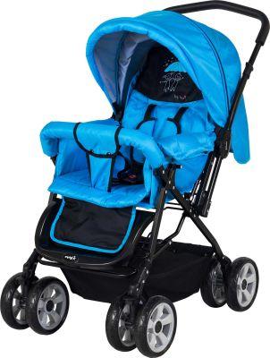 CrystalBaby - Crystal Baby 212 Mega Bebek Arabası - Mavi