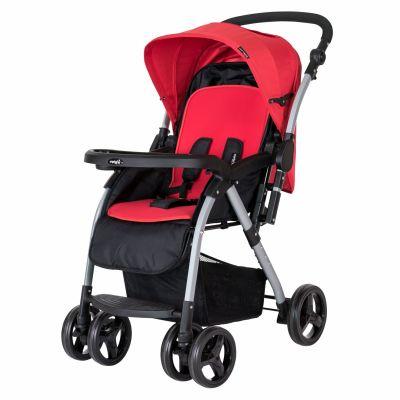 CrystalBaby - Crystal Baby 298 Maria Çift Yönlü Bebek Arabası Kırmızı