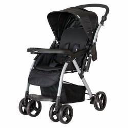 CrystalBaby - Crystal Baby 298 Maria Çift Yönlü Bebek Arabası Siyah