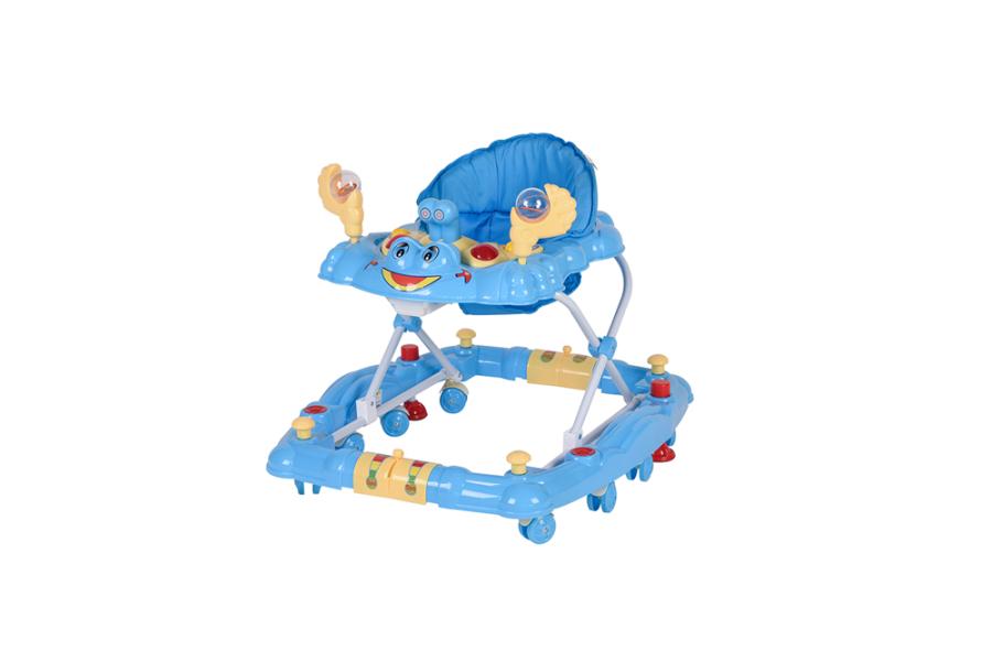 Crystal Baby Wings Sallanır Yürüteç - Mavi