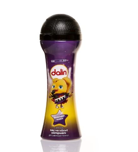 Dalin - Dalin Geleceğin Yıldızları Saç ve Vücut Şampuanı Çilek 300 ml