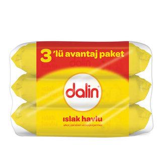 Dalin - Dalin Islak Havlu Klasik 3x56 Adet