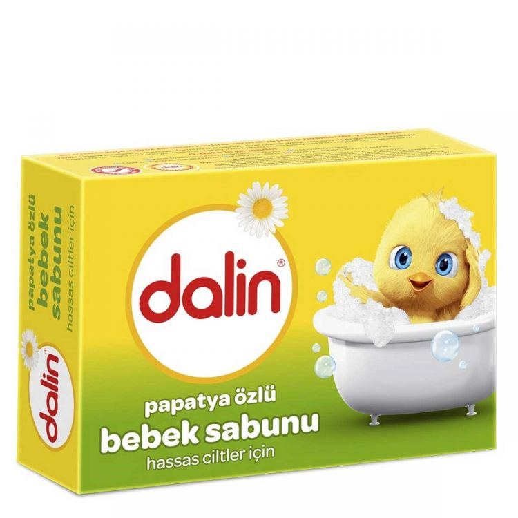 Dalin - Dalin Papatya Özlü 100 gr Bebek Sabunu