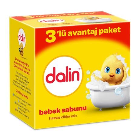 Dalin - Dalin Bebek Sabunu 3lü 3x100 gr