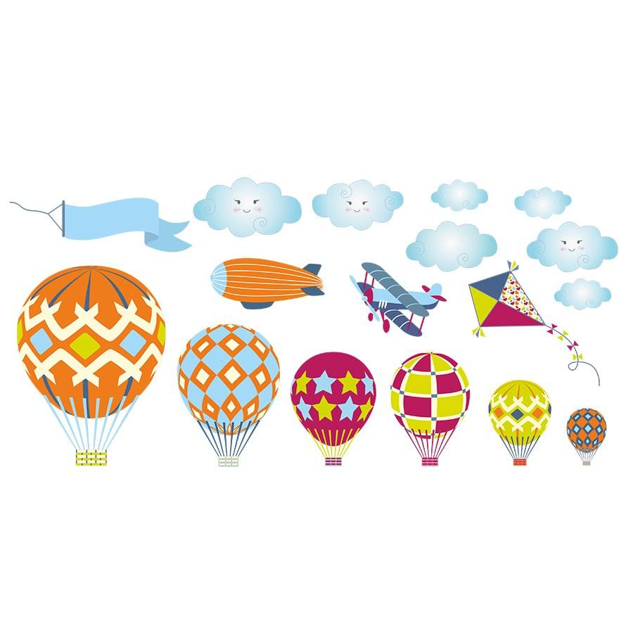 En Ucuz Dekor Loft Sampiyon Ucan Balonlar Cocuk Odasi Duvar