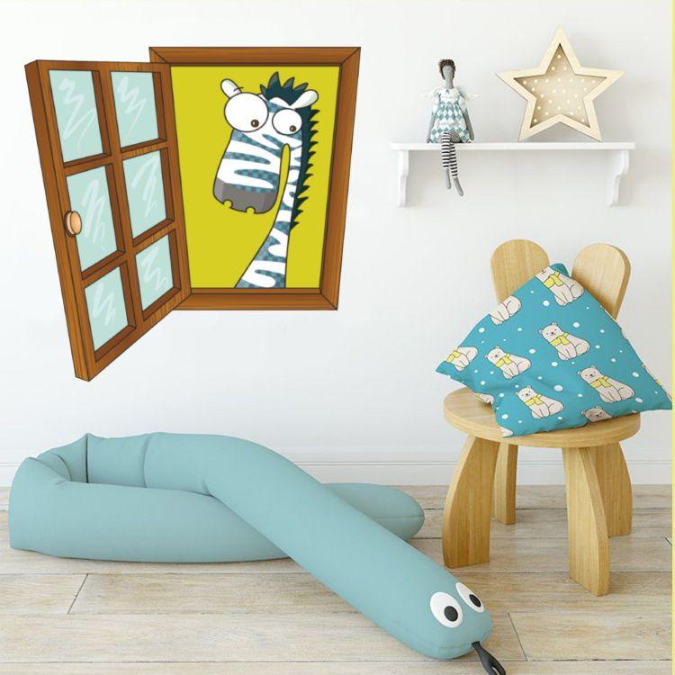 DekorLoft - DekorLoft Çocuk Odası Pencere Sticker PNC-802