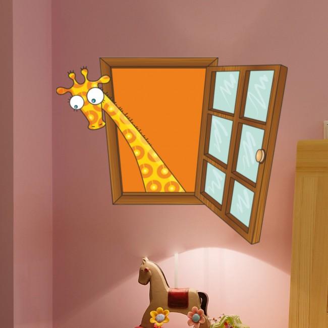 DekorLoft - DekorLoft Çocuk Odası Pencere Sticker PNC-803