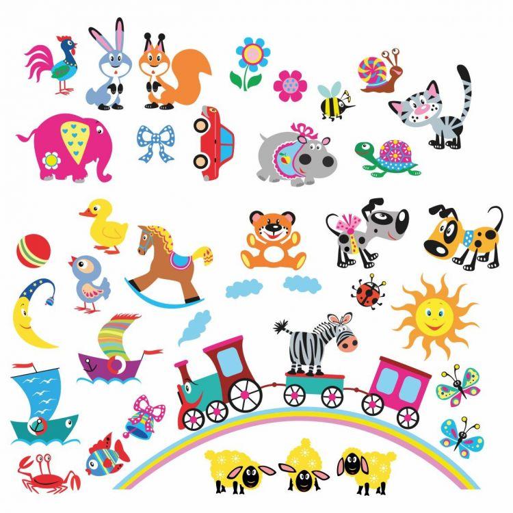 DekorLoft - DekorLoft Karakterler Çocuk Odası Sticker CS-552