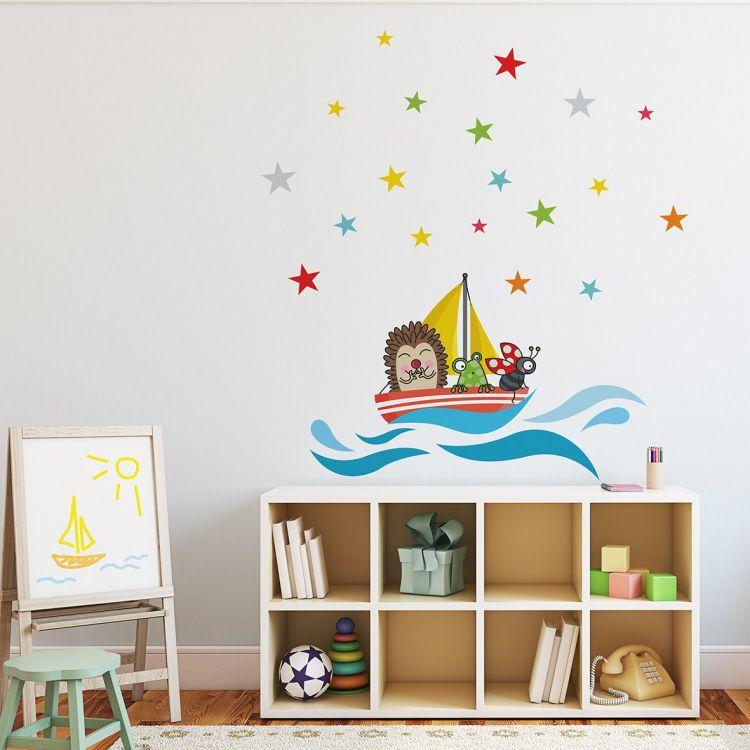DekorLoft - DekorLoft Komik Denizciler Çocuk Odası Duvar Sticker CS-326