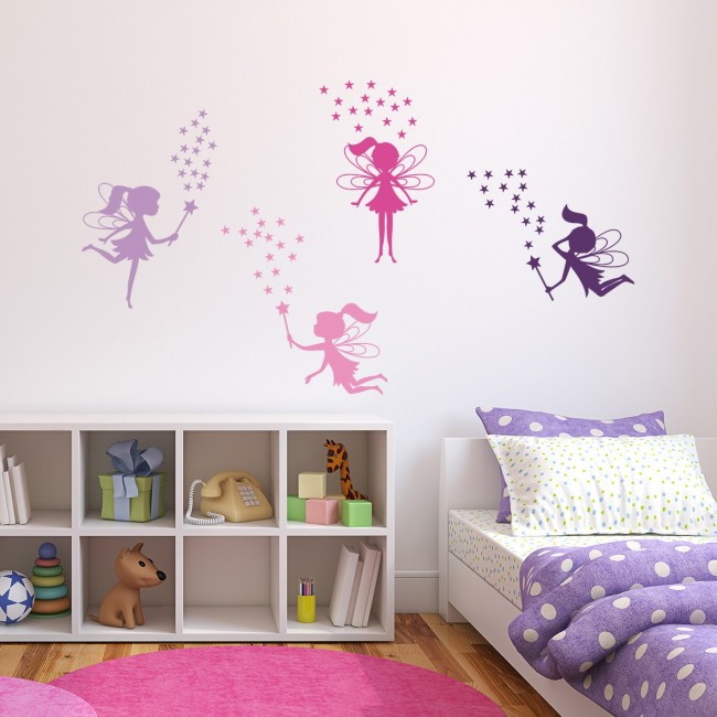 DekorLoft - DekorLoft Periler Çocuk Odası Sticker CS-567