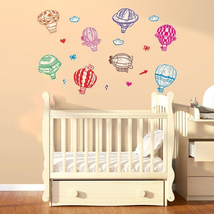 DekorLoft - DekorLoft Sevimli Balonlar Çocuk Odası Sticker CS-519