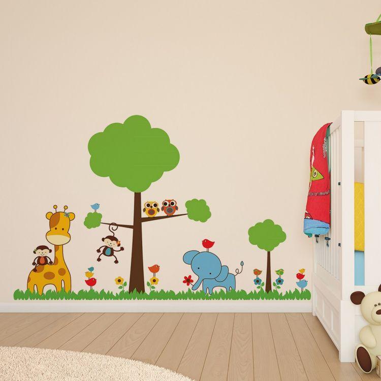 DekorLoft - DekorLoft Sevimli Orman Çocuk Odası Sticker CS-568