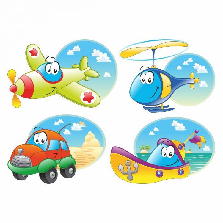 DekorLoft - DekorLoft Taşıtlar Çocuk Odası Sticker CS-267