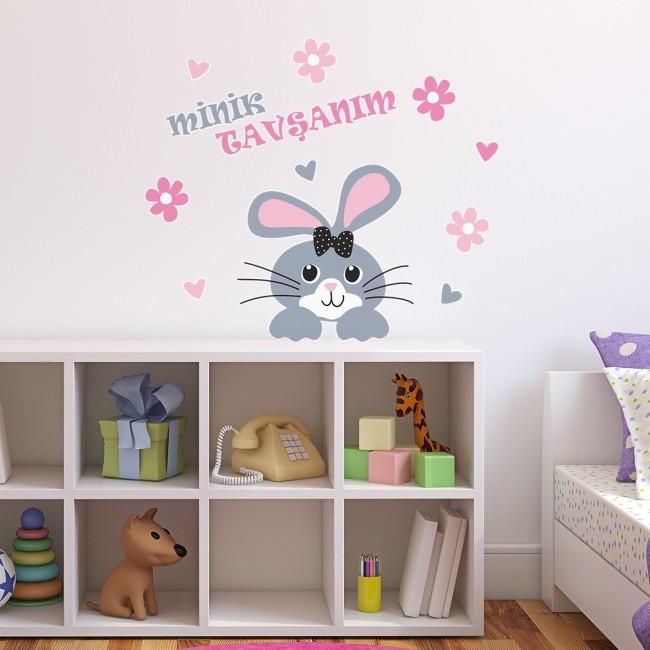 DekorLoft - DekorLoft Tavşancık Çocuk Odası Sticker CS-583