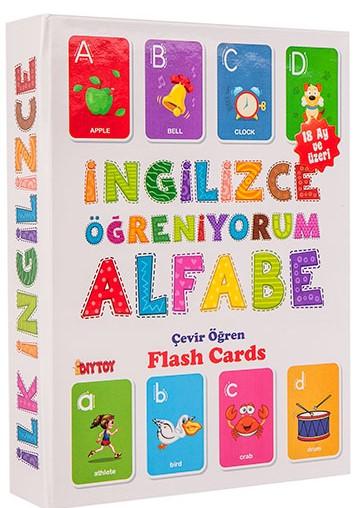Dıytoy - Dıytoy Flash Card Book İngilizce Alfabe