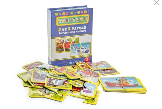 Dıytoy - Dıytoy Flash Cards Taşıtlar