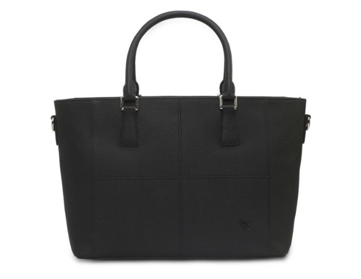Eensy Weensy - Eensy Weensy Stylish Luxy Handbag - Black