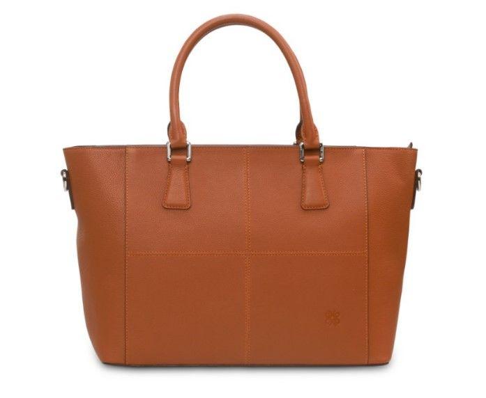 Eensy Weensy - Eensy Weensy Stylish Luxy Handbag - Camel