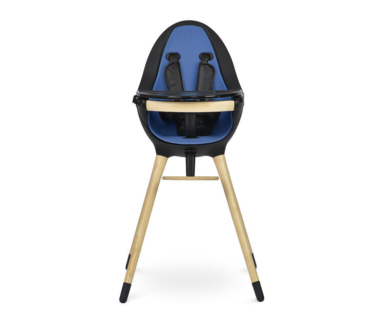 Been - Eggy Mama Sandalyesi Black Dıstant Blue