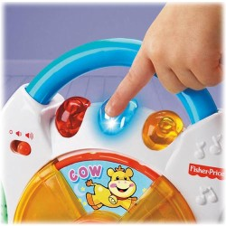 Fisher Price - Fisher Price Eğlen ve Öğren Eğitici CD Çalar