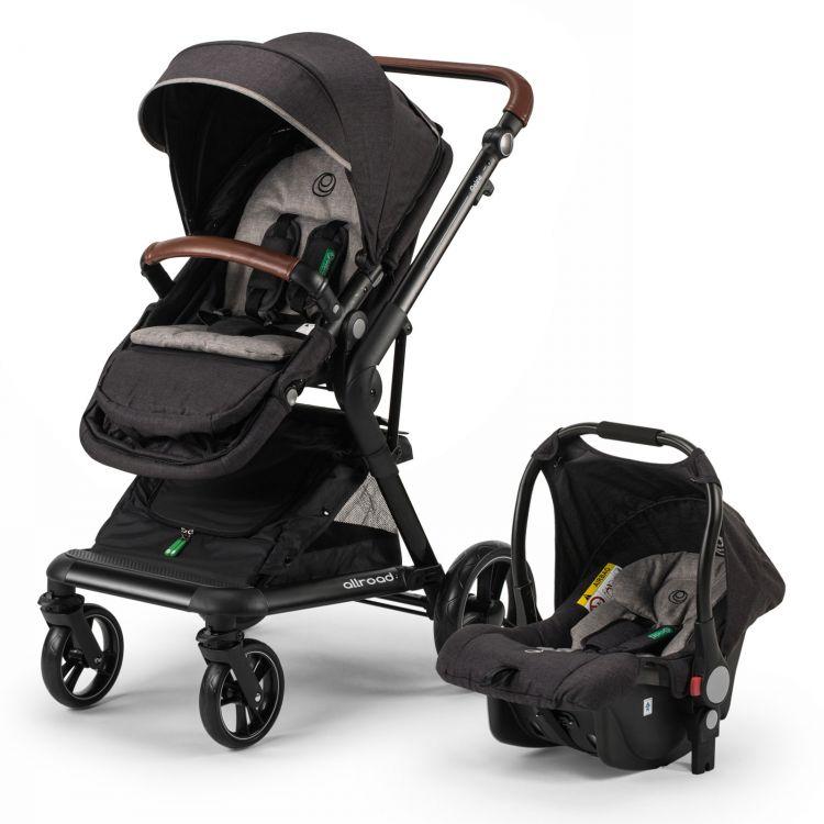 Elele - Elele Allroad Travel Sistem Bebek Arabası Siyah