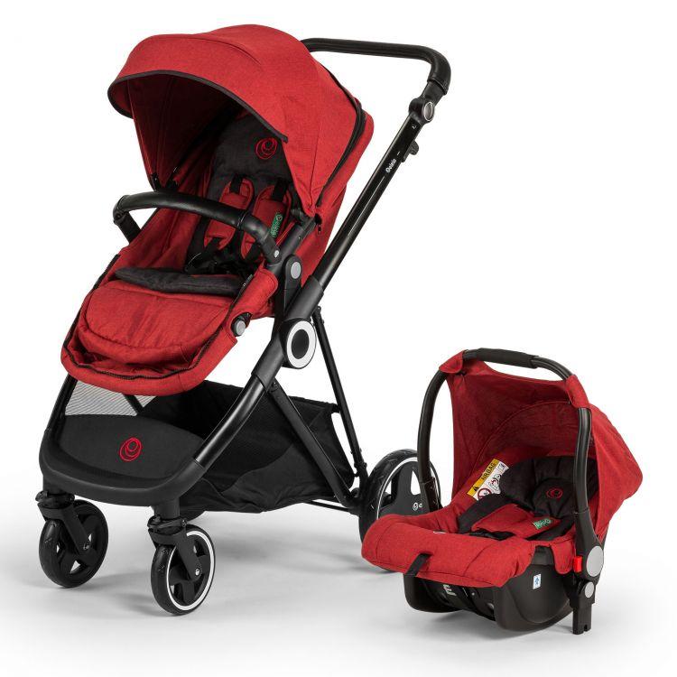Elele - Elele Ranger Travel Sistem Bebek Arabası Kırmızı