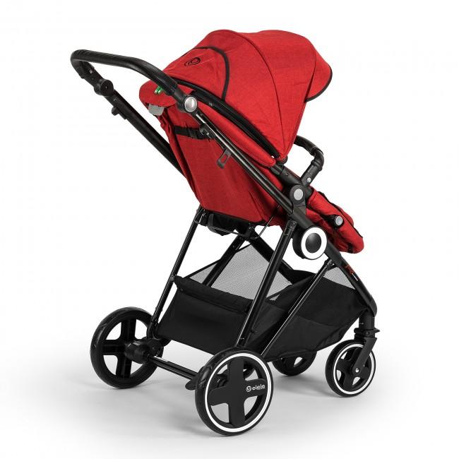 Elele Ranger Travel Sistem Bebek Arabası Kırmızı - Thumbnail